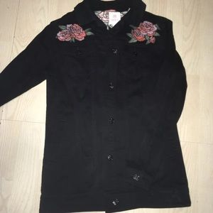 Gorgeous Embroidered Jean Jacket